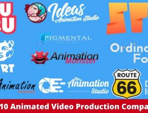 Top 10 Animated Video Production Companies