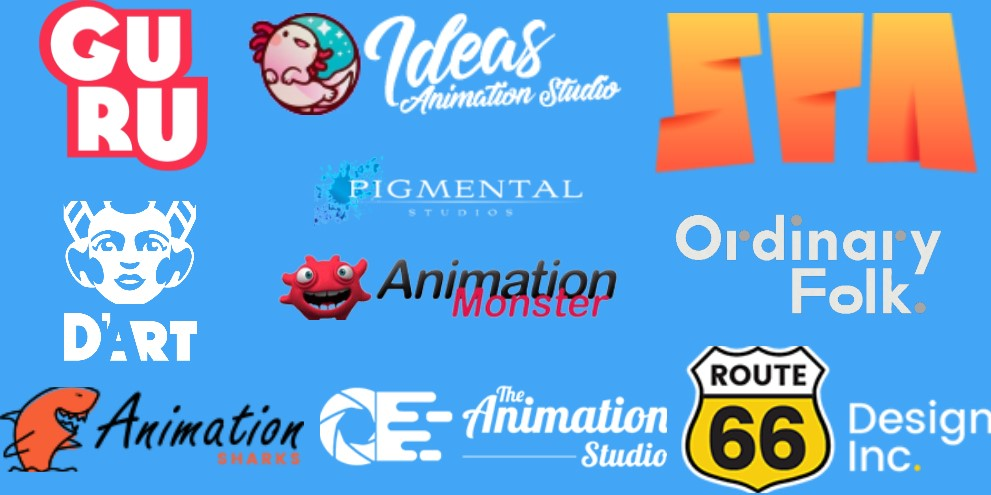 Top 10 Animation studios